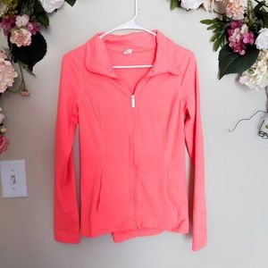 Under Armour Neon Pink Fitted Workout Jacket